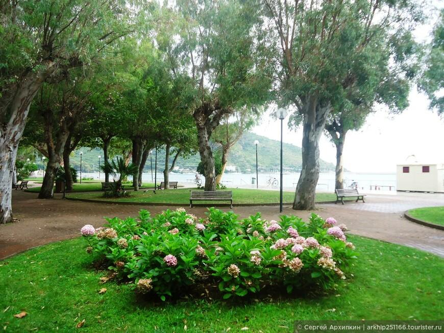 Парк на набережной Сапри
