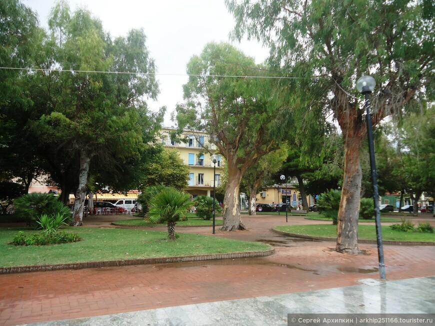 Парк Сапри у набережной