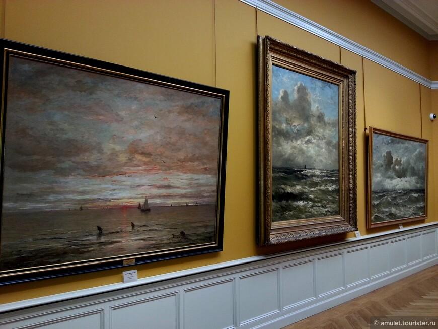 море, волны, шторм и штиль на картинах Меесдаха