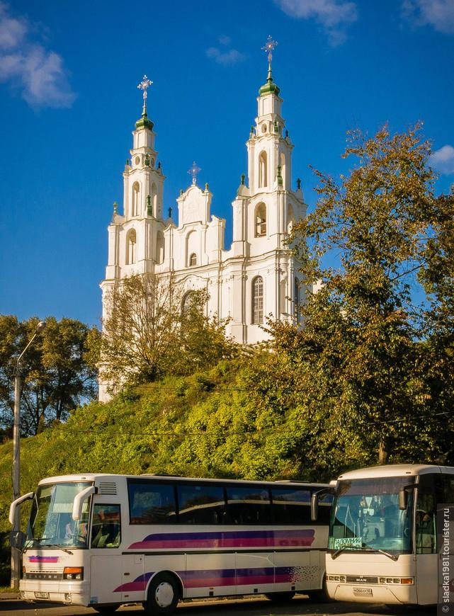 Софийский собор а Полоцке,самое древнее каменное строение в Беларуси.