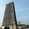 Надвратная башня храмового комплекса - гопурам в Мурдешваре