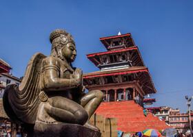 Дурбар Сквер (Дворцовая площадь). Катманду