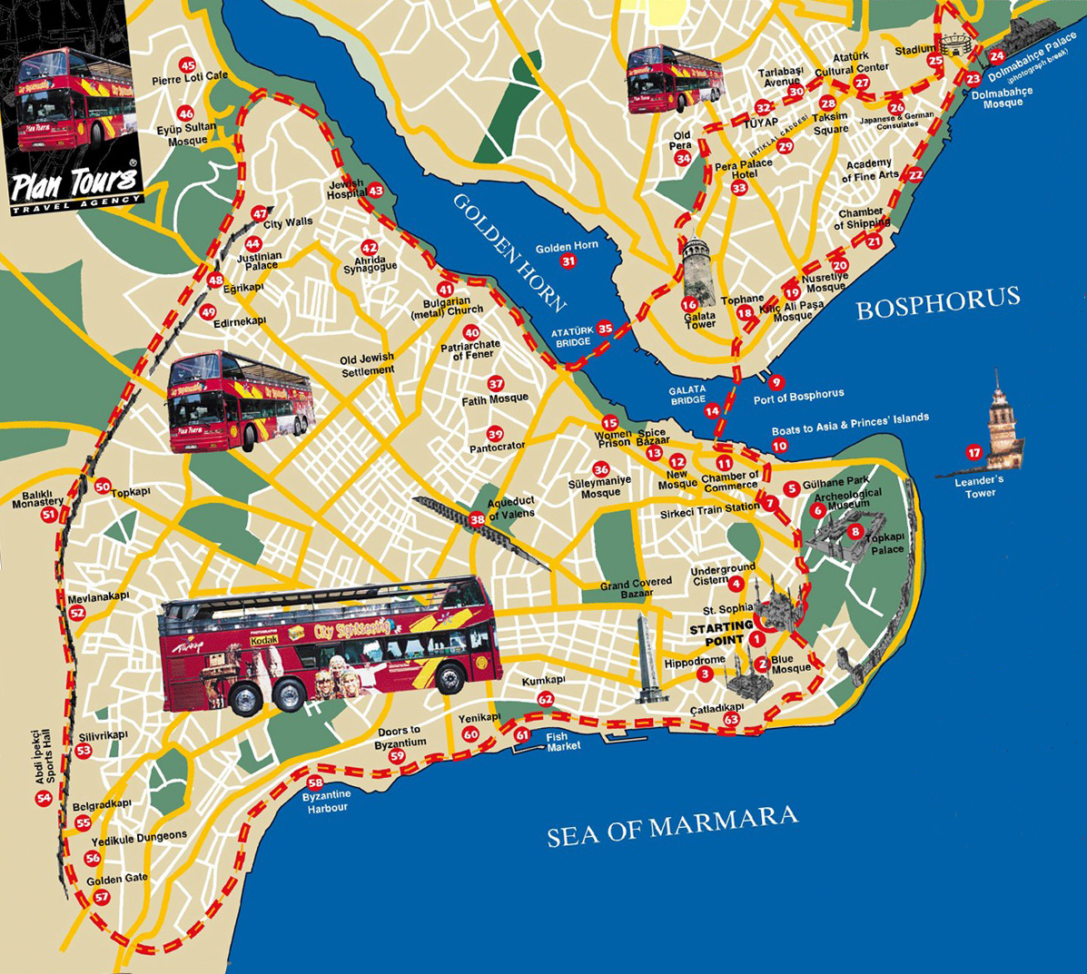 Карта Стамбула на русском языке Карта метро Стамбула на