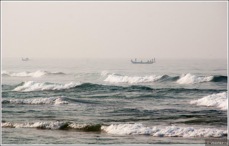 Утренние лодки.