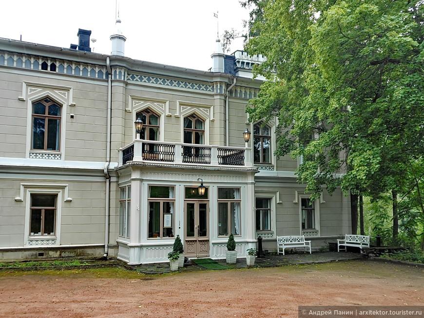 Отель Karhulan Hovi Manor. Настоящая усадьба.
