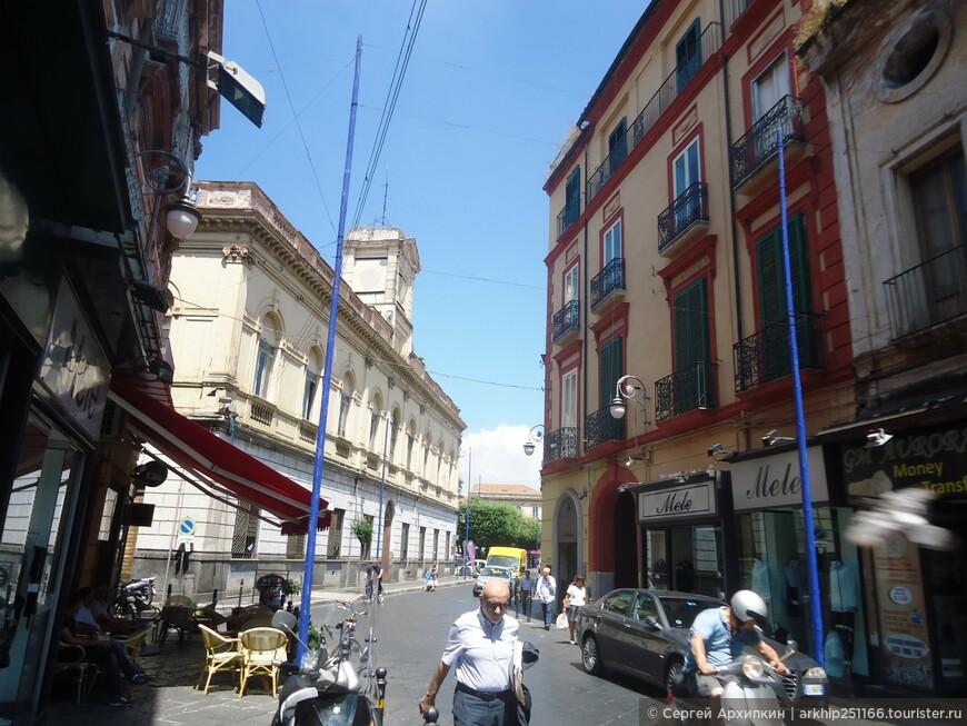 Далее я направавился к улице Корсо Альдо Моро