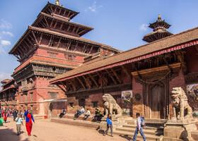 Лалитпур (Прекрасный город) - Патан. Непал