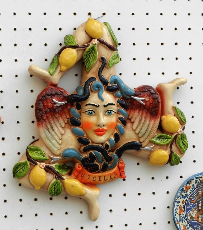 Тринакрия - символ Сицилии.