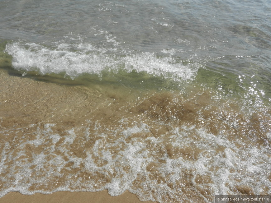 пляж в городе Авола.