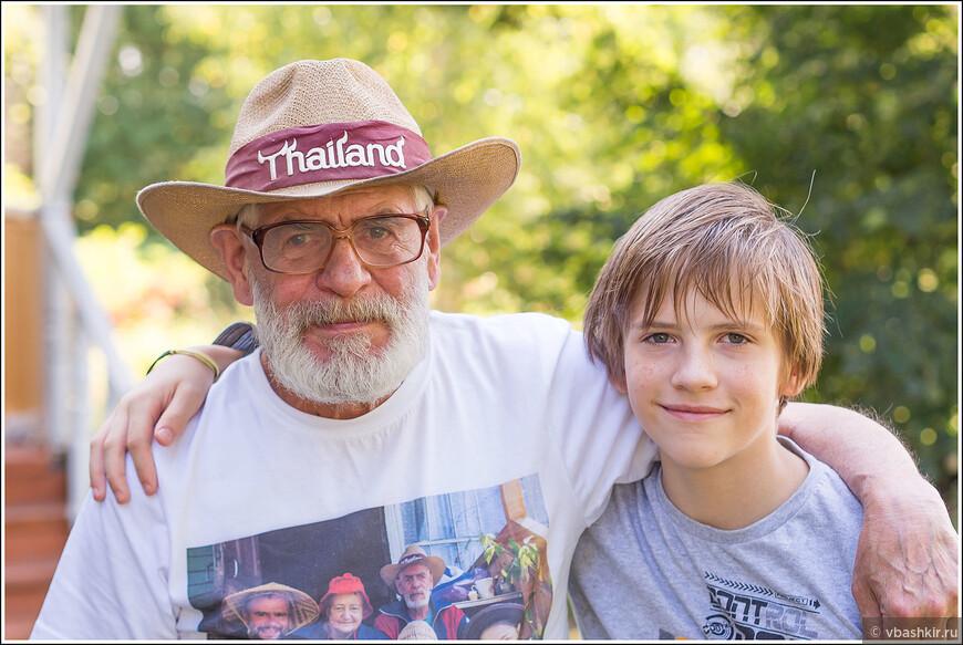 У деда и внука день рождения. Одному 78, другому 12.
