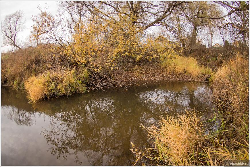 Наша бурная полноводная река.