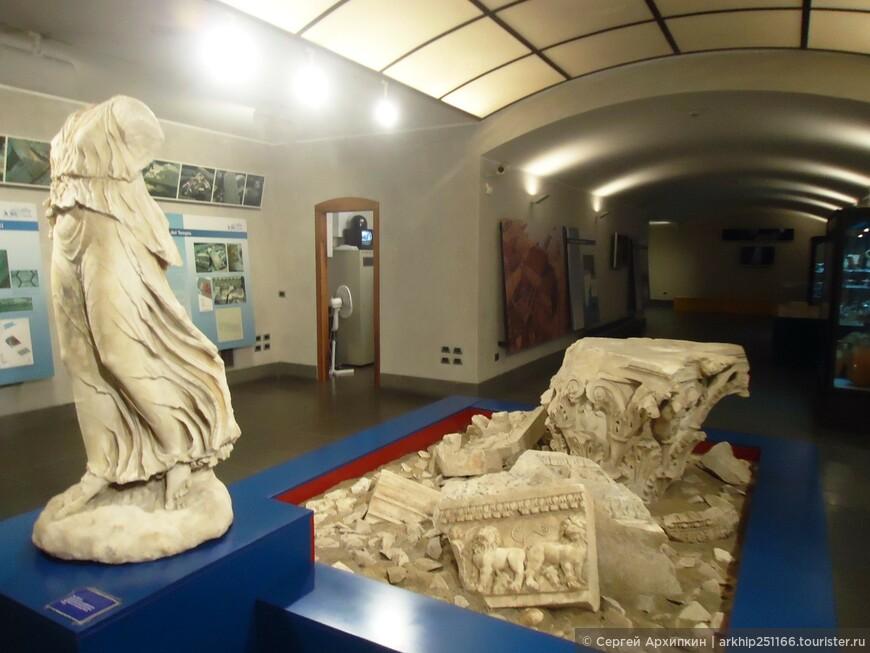 Музей на станции метро в Неаполе
