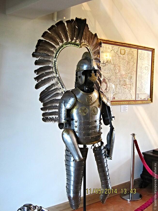 Доспехи польского крылатого гусара XVII века