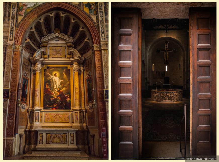 Баптистерия собора, посвященный Св. Марии