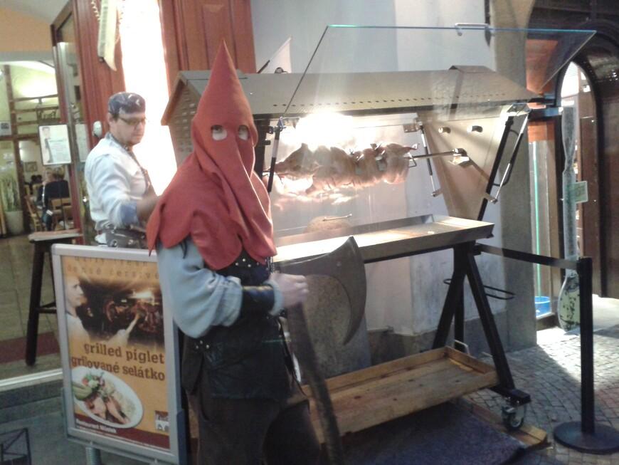 В Праге запросто можно встретить палача :-)  www.gidvprage.com