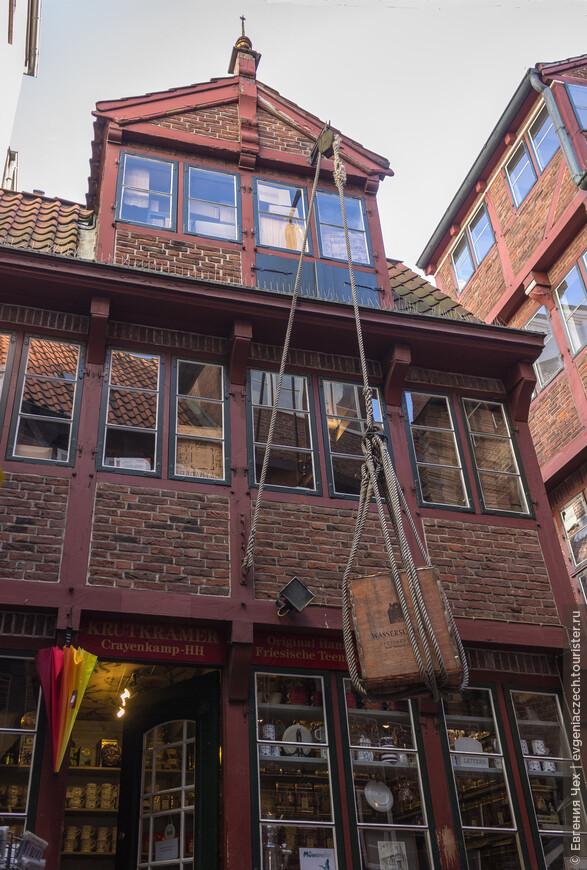 Крамерамтштубен, маленький переулок в старом городе, уцелевший после бомбежек 1944-45.