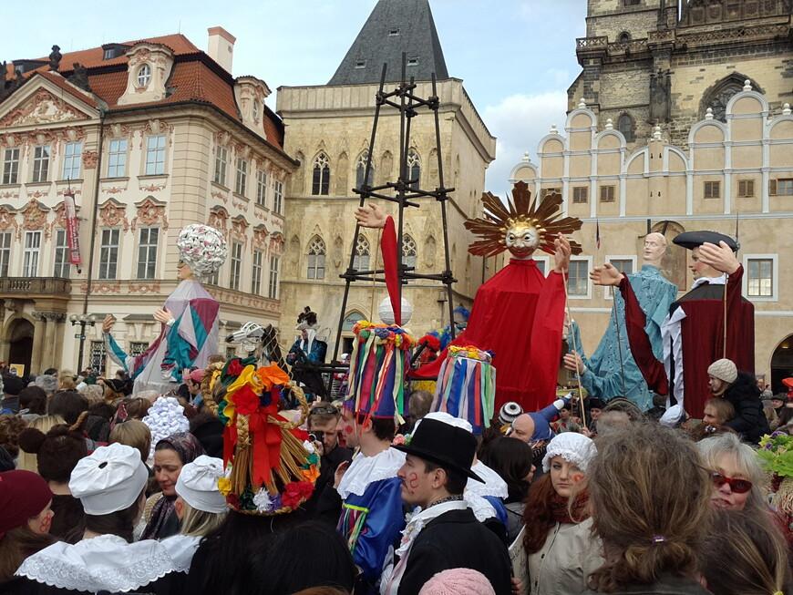 Ах,карнавал ! Удивительный мир...  www.gidvprage.com