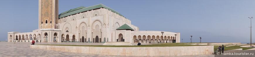 Ну и конечно, главная достопримечательность Касабланки- Мечеть Хасана 2.