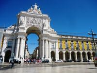 Самостоятельно по центру Лиссабона.