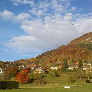 Осень в Анси