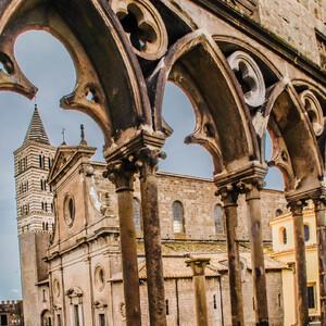 Витербо - родина папских конклавов. Италия