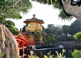 Гонконг. Сад Нан Лиан и монастырь Чи Лин