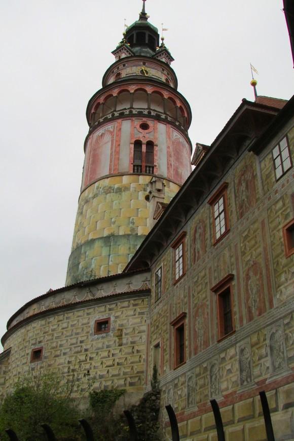 Малый град и башня с моста над Медвежьим рвом