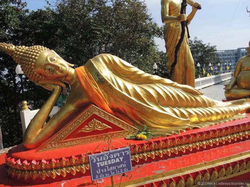 Будда, символизирующий вторник