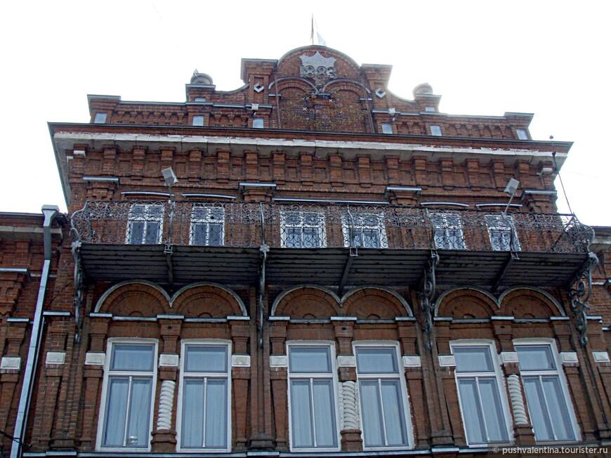 Усадьба купца Дубинина, сейчас здание администрации.