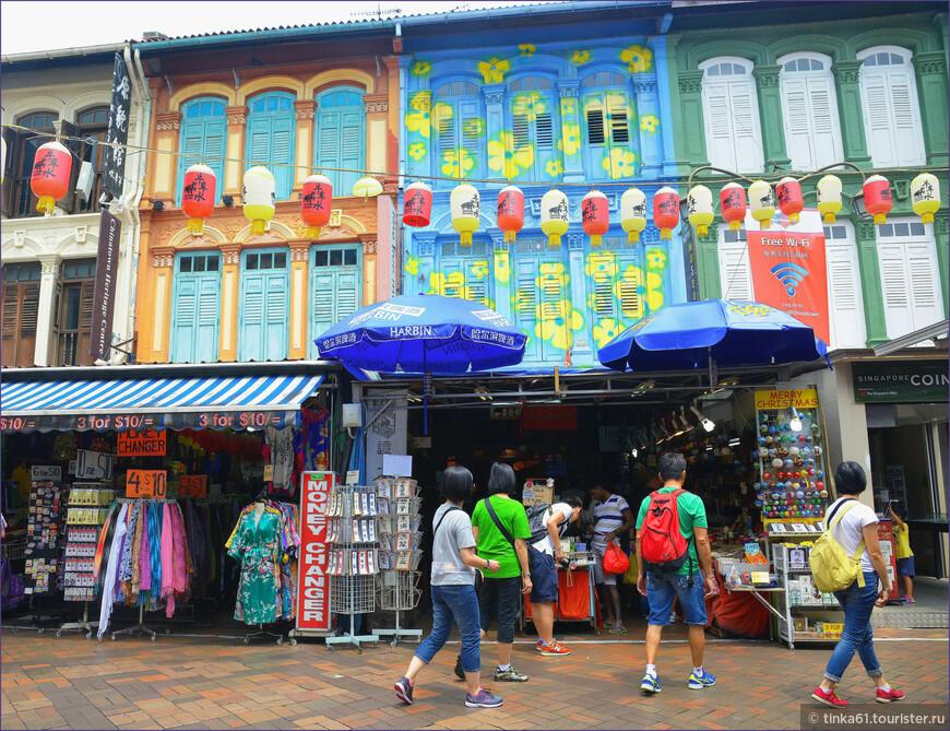 Торговые улочки Чайна-тауна.