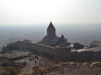 Монастыри и церкви Армении.  Хор Вирап
