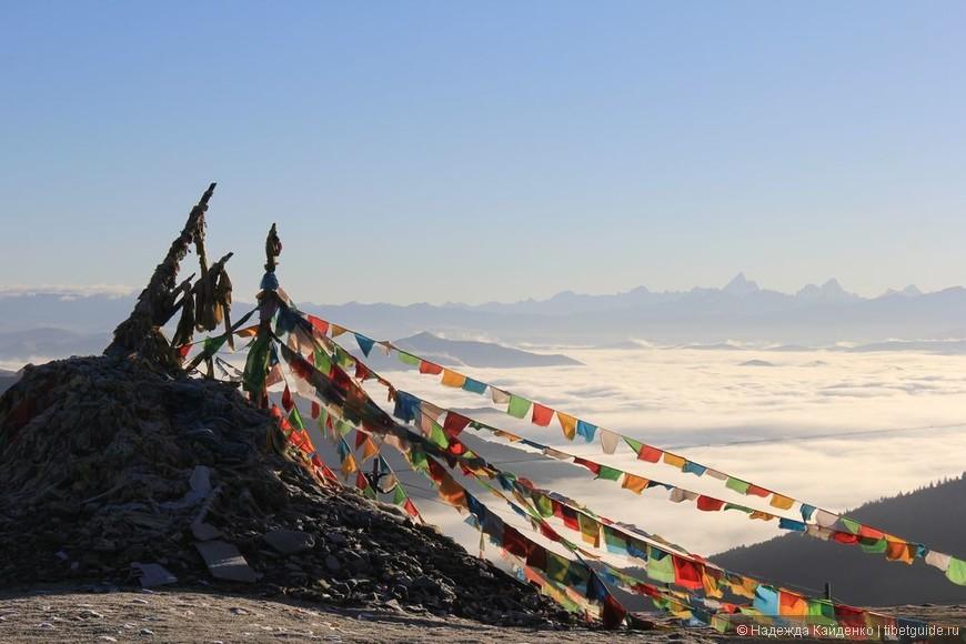 Тибетская область Кхам Вид на Минья Конка !!! Путь из Синьдуцяо в Даочен