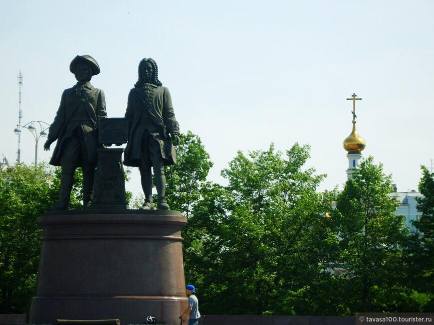 Памятник Василию Татищеву И Вильгельму де Геннину