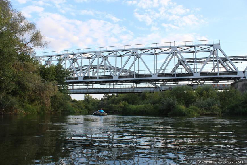 Железнодорожные мосты через реку Болву