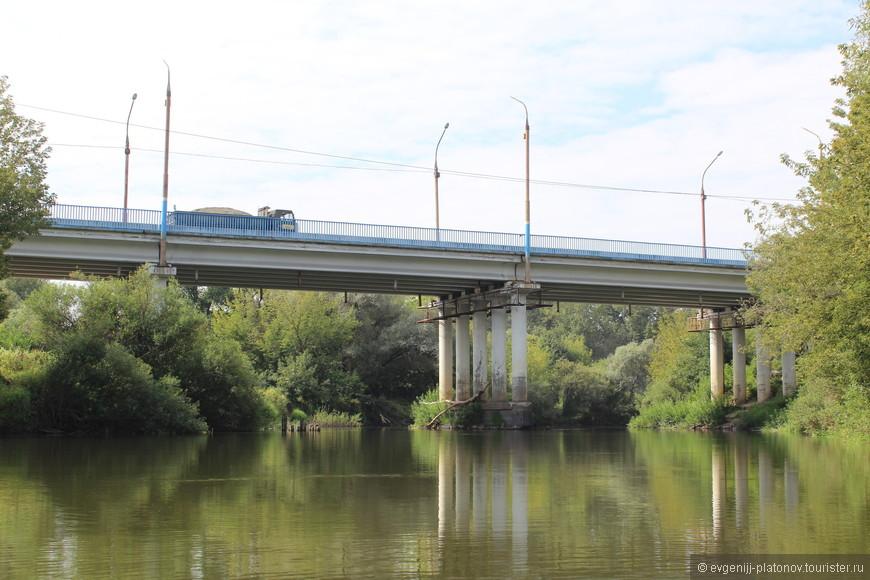 Мост через Болву между Бежицким и Володарским районами