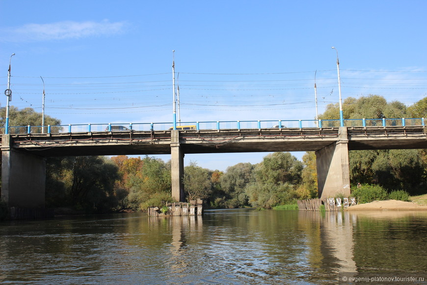 Первомайский мост улица Ульянова