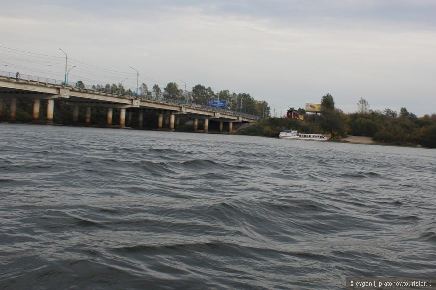 Мост между Советским и Фокинским районами