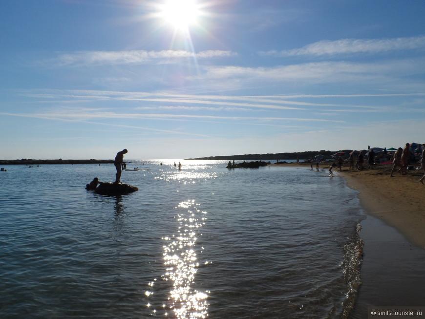 Пляжи Пафоса.