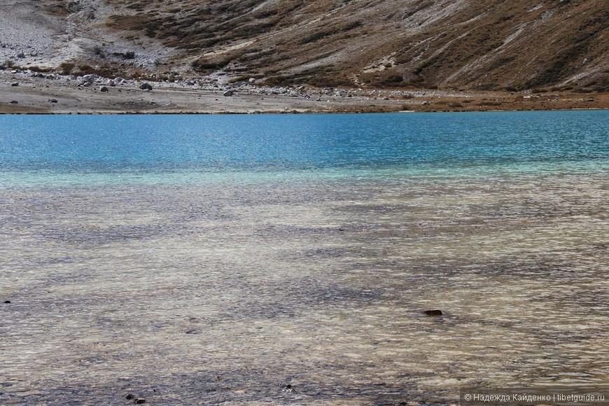 Молочное озеро, повезло с погодой, было солнечно здесь, удалось посидеть полчасика, слиться с местом.