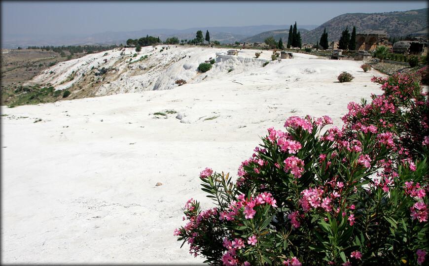 На осмотр хотя бы половины исторических достопримечательностей Иераполиса нужно: пешком — 90; быстрым шагом — 60; бегом — 30 минут:)