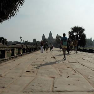 Камбоджа, Ангкор Ват, Ангкор Том, Та Пром