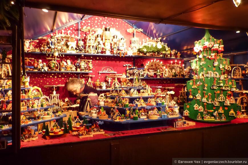 Деревянные игрушки и елочные украшения характерны для всего региона Харц.