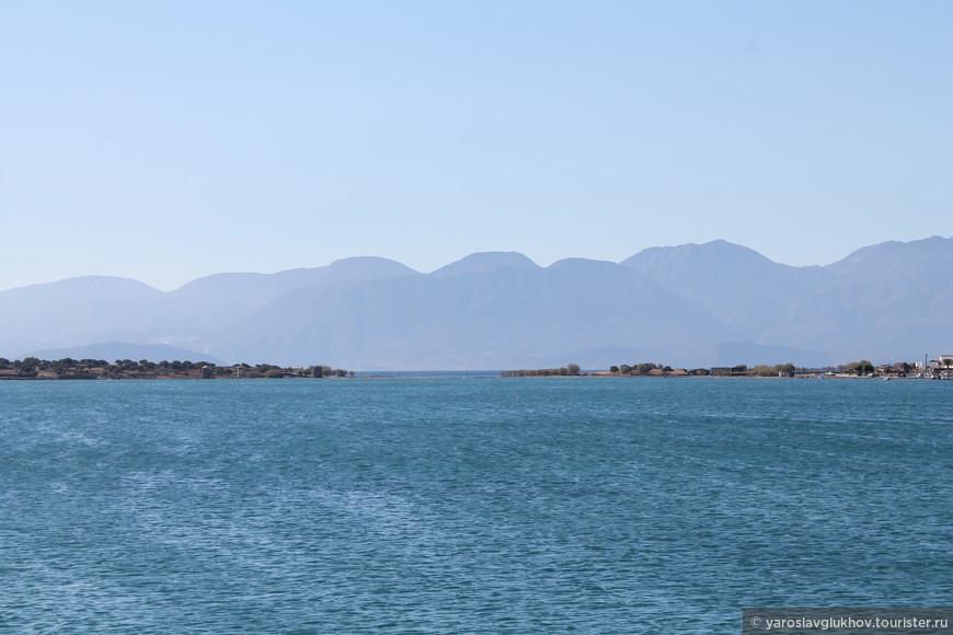 Вид на Диктейские горы.