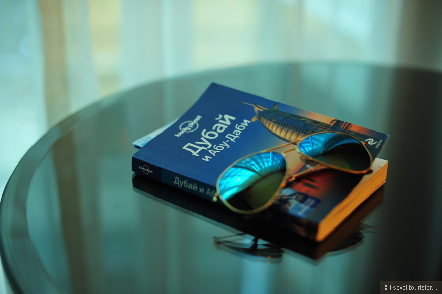 мой лучший друг  в Дубаи - мой путеводитель.