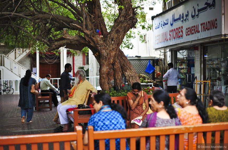 Так выглядит индийский квартал в Дубаи