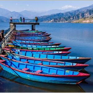Жизнь озерa Фева. Непал