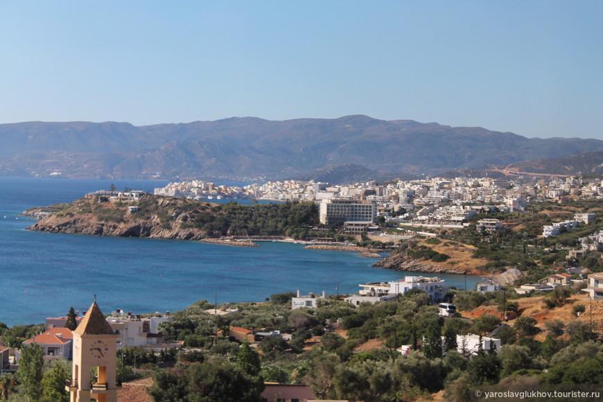 Вид на Агиос-Николаос.