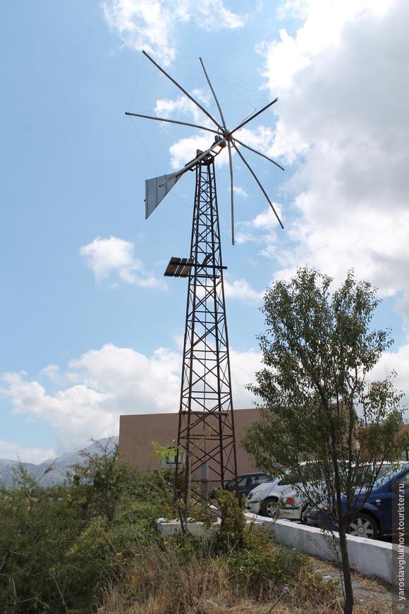 Ветряная мельница Лассити.