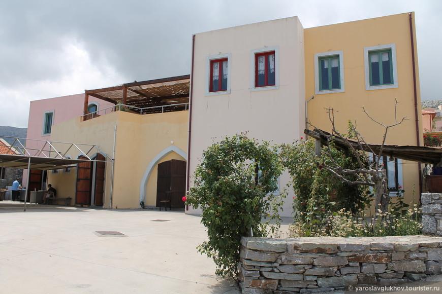 Традиционная Критская деревня.