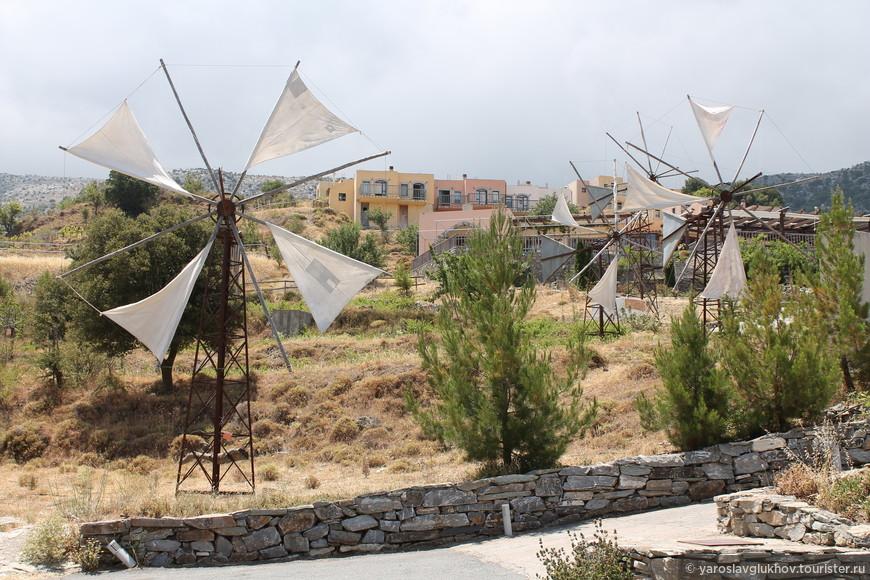 Ветряные мельницы.